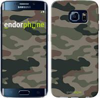 "Чехол на Samsung Galaxy S6 Edge G925F Камуфляж v3 ""1097c-83"""