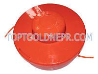 Косильная головка для триммеров красная стандарт, качественный пластик