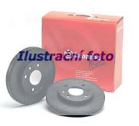 Тормозной диск передний Brembo 09.5745.76 для Audi A4 (8D2, B5) 10.1996-11.2000