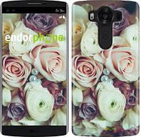 """Чехол на LG V10 H962 Букет роз """"2692u-370"""""""