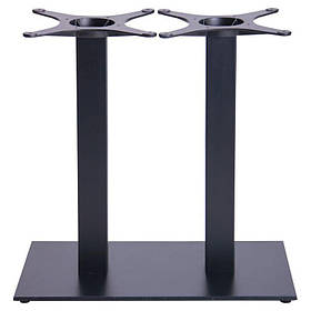 Опора для стола Афина Двойная (Double SB-SR58S) Черная (AMF-ТМ)