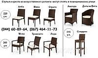 Стул, кресло, мебель из искусственного ротанга, мебель для сауны, мебель для бассейна, мебель для ресторана