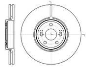 Тормозной диск передний Roadhouse RH 61234.10 для Renault Espace Iv (Jk0/1) 01.2006+