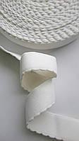 Резинка поясная DolceGabbana декоративная белая 25 мм ширина