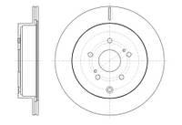 Тормозной диск задний Roadhouse RH 61416.10 для Suzuki Grand Vitara Ii (Jt) 04.2005+