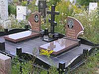 Гранитный двойной памятник