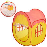 Детская игровая палатка M 3301 куб, 86-63см, вход-накид.сетка, завязка, липучка, окно-сетка 2шт, в сумке, 34-3