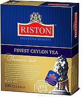 Черный цейлонский мелкий чай Ристон Финест Цейлон 100 пак.