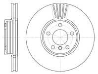 Тормозной диск передний Roadhouse RH 6600.10 для Bmw X5 (E53) 05.2000-12.2006