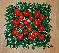 Коврик  с ромашкой 18 цветков, фото 1
