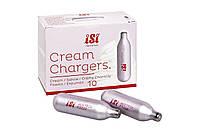 Баллончики для взбивания сливок 10 шт iSi Cream Chargers