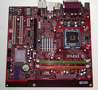 Плата S775 MSI G31M на DDR2 понимает ВСЕ 2-4 ЯДРА ПРОЦЫ INTEL Core2QUAD, Core2DUO, XEON 775 FSB 1333 сГАРАНТ