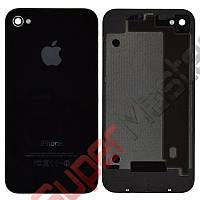 Задняя крышка для iPhone 4, цвет черный