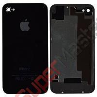 Задняя крышка для iPhone 4S, цвет черный