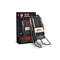 Тестер аккумуляторных батарей (нагрузочная вилка) DK24-2014 100 A-ч 6/12V стрел.индик метал