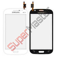 Тачскрин (сенсор) Samsung i9082 Galaxy Grand Duos, маленькая микросхема, цвет белый