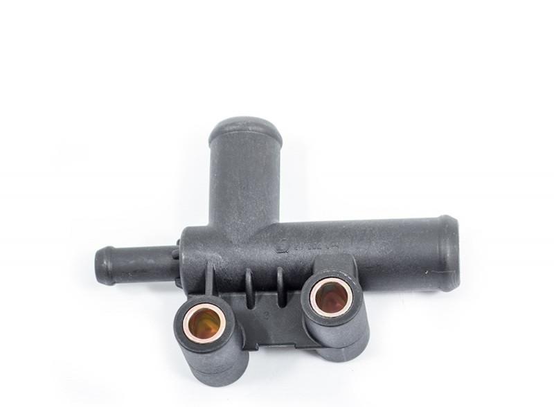 Тройник системы охлаждения Тройник патрубков радиатора Daewoo Lanos Ланос 1.5 PMC