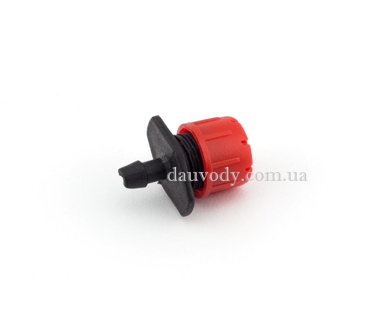 Капельница регулируемая 1-4 поток 0-70 (л/ч) для капельного полива