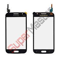 Тачскрин (сенсор) Samsung i8552, маленькая микросхема, цвет черный