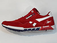 Мужские красные замшевые кроссовки Рибок. 40-44.