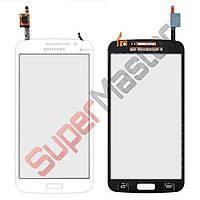 Тачскрин (сенсор) Samsung G7102, G7106 Galaxy Grand 2, цвет белый, маленькая микросхема