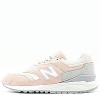 Женские кроссовки New Balance 997 Pink Grey
