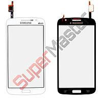 Тачскрин Samsung G7102, G7106 Galaxy Grand 2, цвет белый, большая микросхема, копия высокого качеств