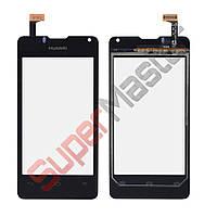 Тачскрин (сенсор) Huawei U8833, Y300, цвет черный