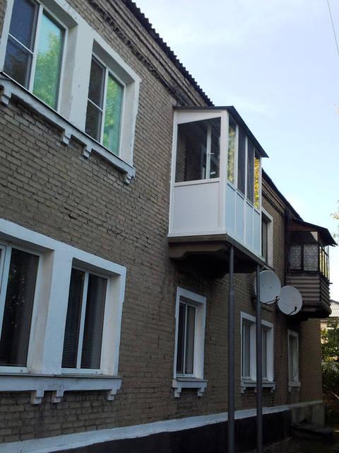 Монтаж собственной крыши для балкона.
