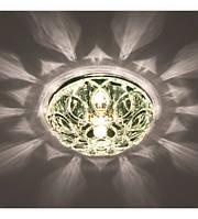 Светильник точечный Feron JD178 35W G9, прозрачный, основа черный