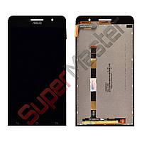 Дисплей Asus ZenFone 6 (A600CG A601CG) с тачскрином в сборе, цвет черный