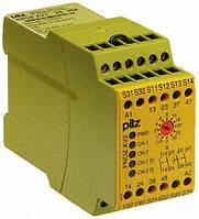 PILZ Защитное реле PNOZ X ESL PNOZ X3.10P  24VACDC 3n/o 1n/c 1so