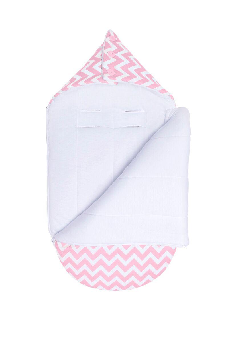 Демисезонный конверт-кокон для младенцев «LC Пинк», GoforKid