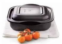 """Кастрюля """"УльтраПро"""" (2 л) Tupperware с крышкой квадратная . Готовит без масла и жира."""