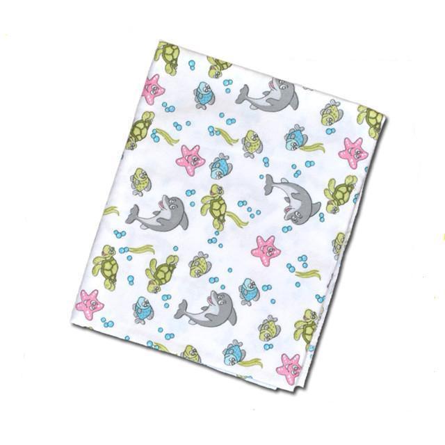 Пеленка для новорожденных байка среднего размера 90Х75