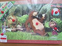 """Вкладыш """" Маша и медведь"""""""