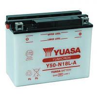 YUASA Y50-N18L-A Мото аккумулятор 20 А/ч, 240 А, (-/+), 205х90х162 мм