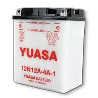 YUASA 12N12A-4A-1 Мото аккумулятор 12 А/ч, 115 А, (+/-), 134х80х162 мм
