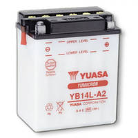 YUASA YB14L-A2 Мото аккумулятор 14 А/ч, 175 А, (-/+), 134х89х166 мм