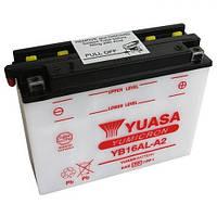 YUASA YB16AL-A2 Мото аккумулятор 16 А/ч, 210 А, (-/+), 207х72х164 мм