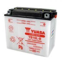 YUASA YB16L-B Мото аккумулятор 19 А/ч, 215 А, (-/+), 175х100х155 мм