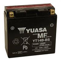 YUASA YT14B-BS Мото аккумулятор 12 А/ч, 210 А, (+/-), 150х70х145 мм