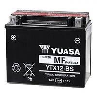 YUASA YTX12-BS Мото аккумулятор 10 А/ч, 180 А, (+/-), 150х87х130 мм