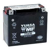 YUASA YTX20-BS Мото аккумулятор 18 А/ч, 270 А, (+/-), 175х87х155 мм