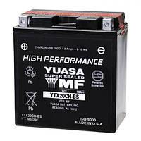 YUASA YTX20CH-BS Мото аккумулятор 18 А/ч, 270 А, (+/-), 150х87х161 мм