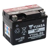 YUASA YTX4L-BS Мото аккумулятор 3 А/ч, 50 А, (-/+), 114х71х86 мм