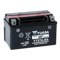 YUASA YTX7A-BS Мото аккумулятор 6 А/ч, 105 А, (+/-), 150х87х94 мм