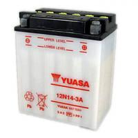 YUASA 12N14-3A Мото аккумулятор 14 А/ч, 128 А, (-/+), 134х89х166 мм