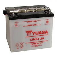 YUASA 12N24-3A Мото аккумулятор 24 А/ч, 200 А, 186х126х177 мм