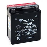 YUASA YTX7L-BS Мото аккумулятор 6,3 А/ч, 100 А, (-/+), 114х71х131 мм
